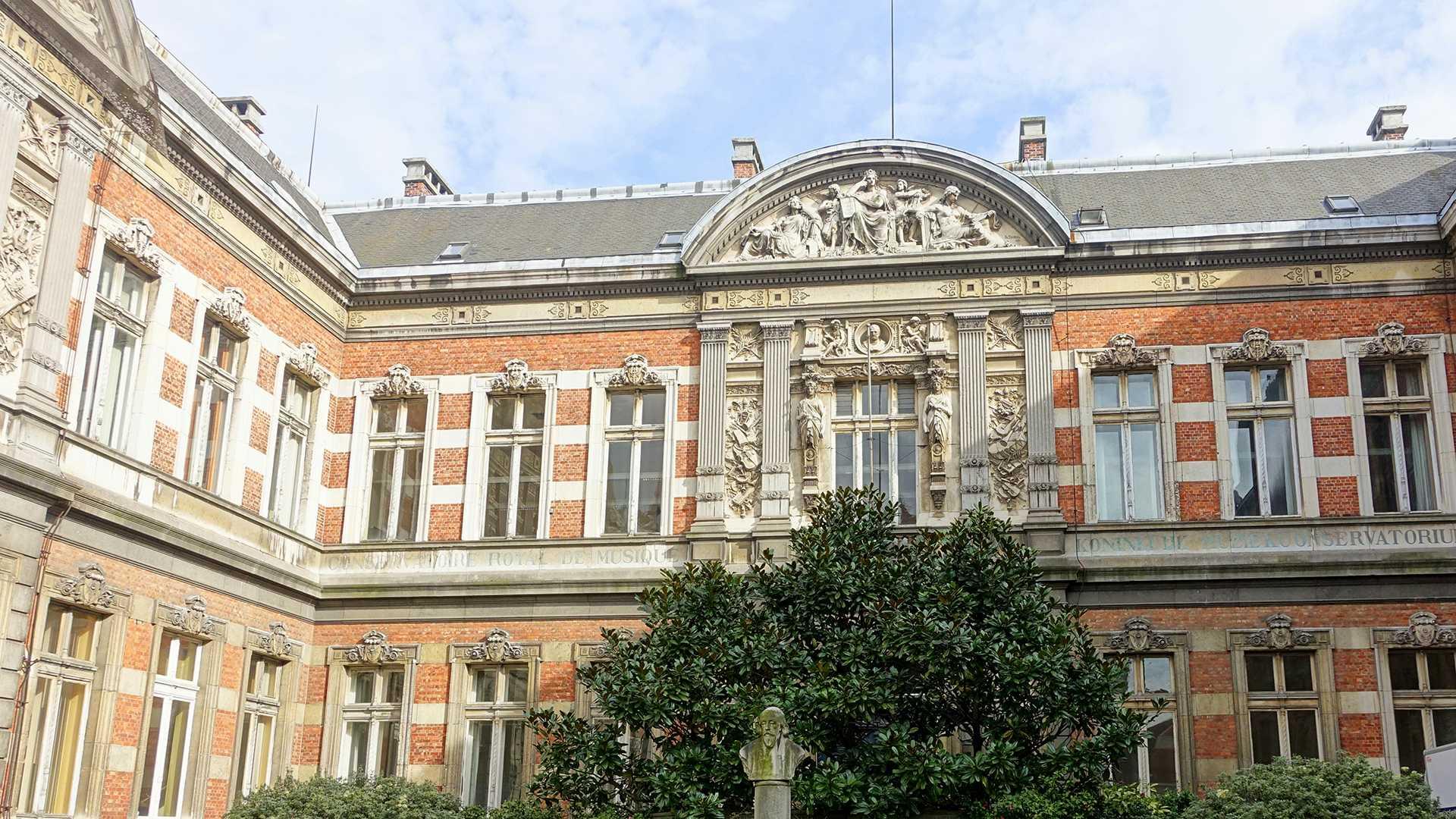 De renovatie van het Koninklijk Conservatorium Brussel