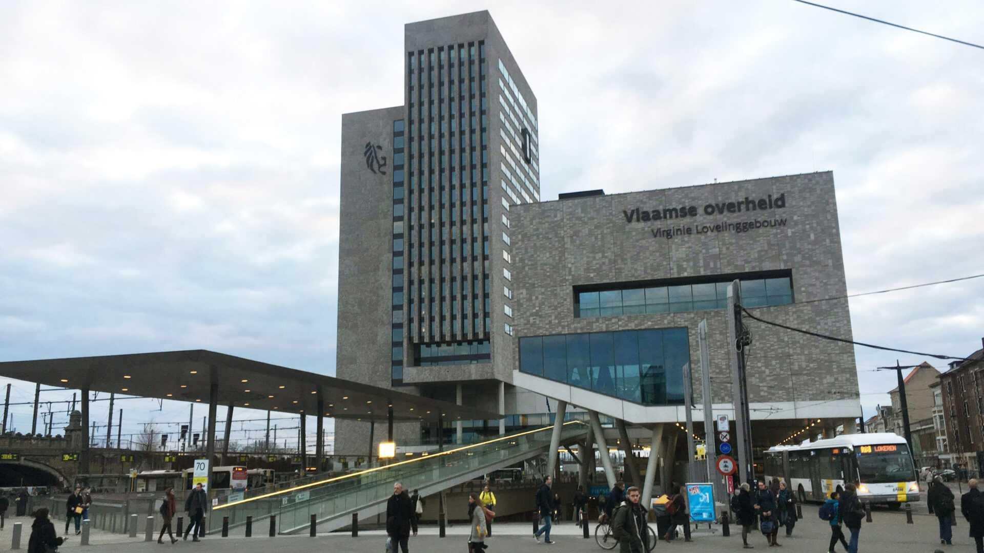 De veiligheid in de Vlaamse overheidsgebouwen