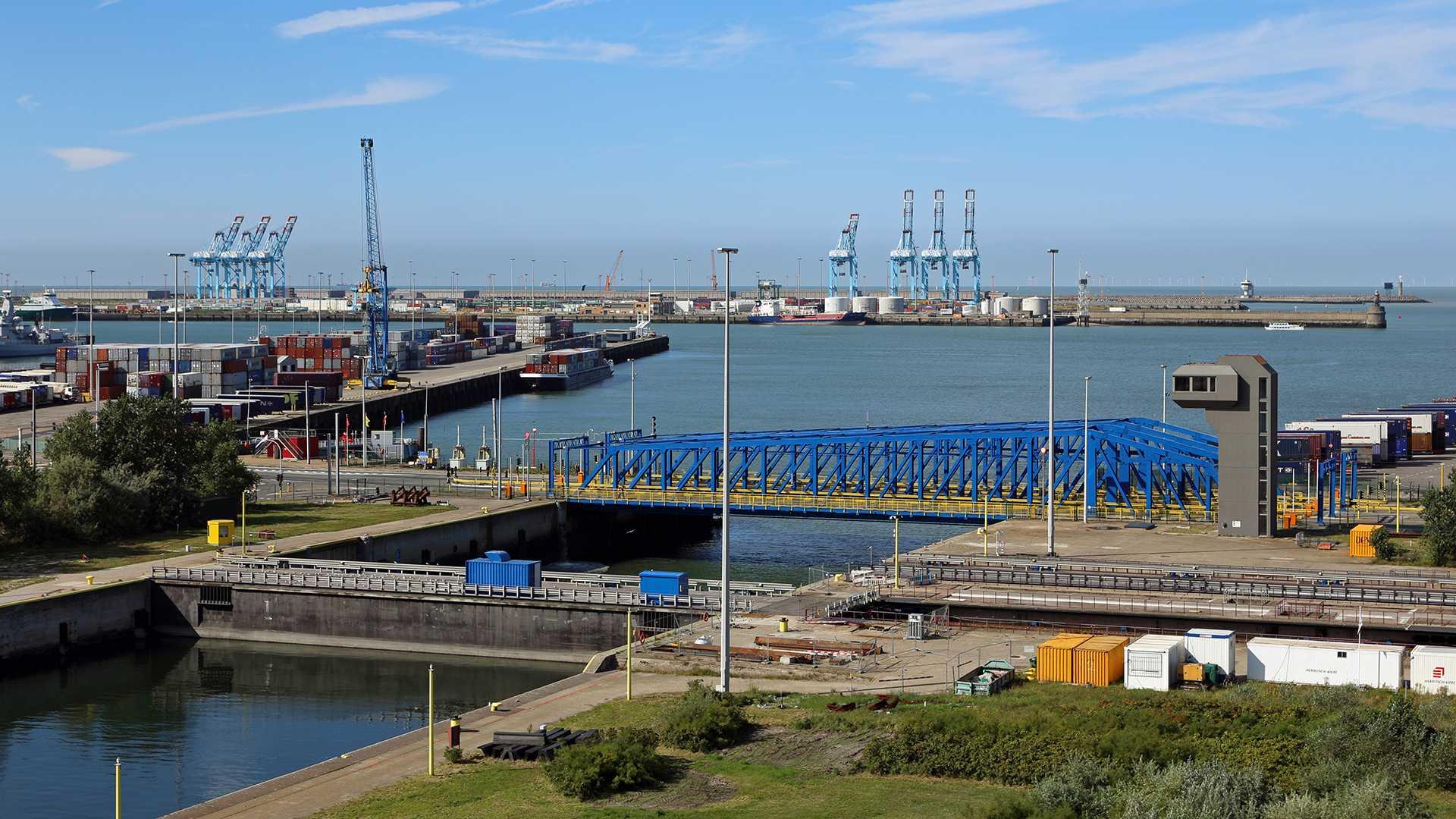 Nieuwe zeesluis voor Zeebrugge