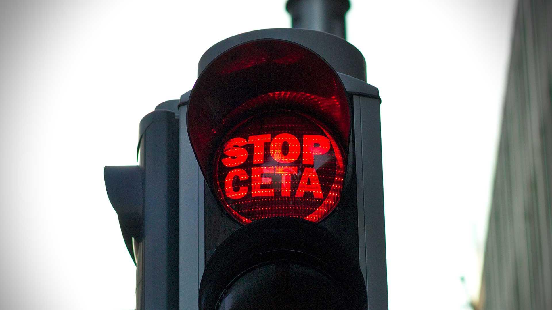 Minister-president Geert Bourgeois verdedigt CETA
