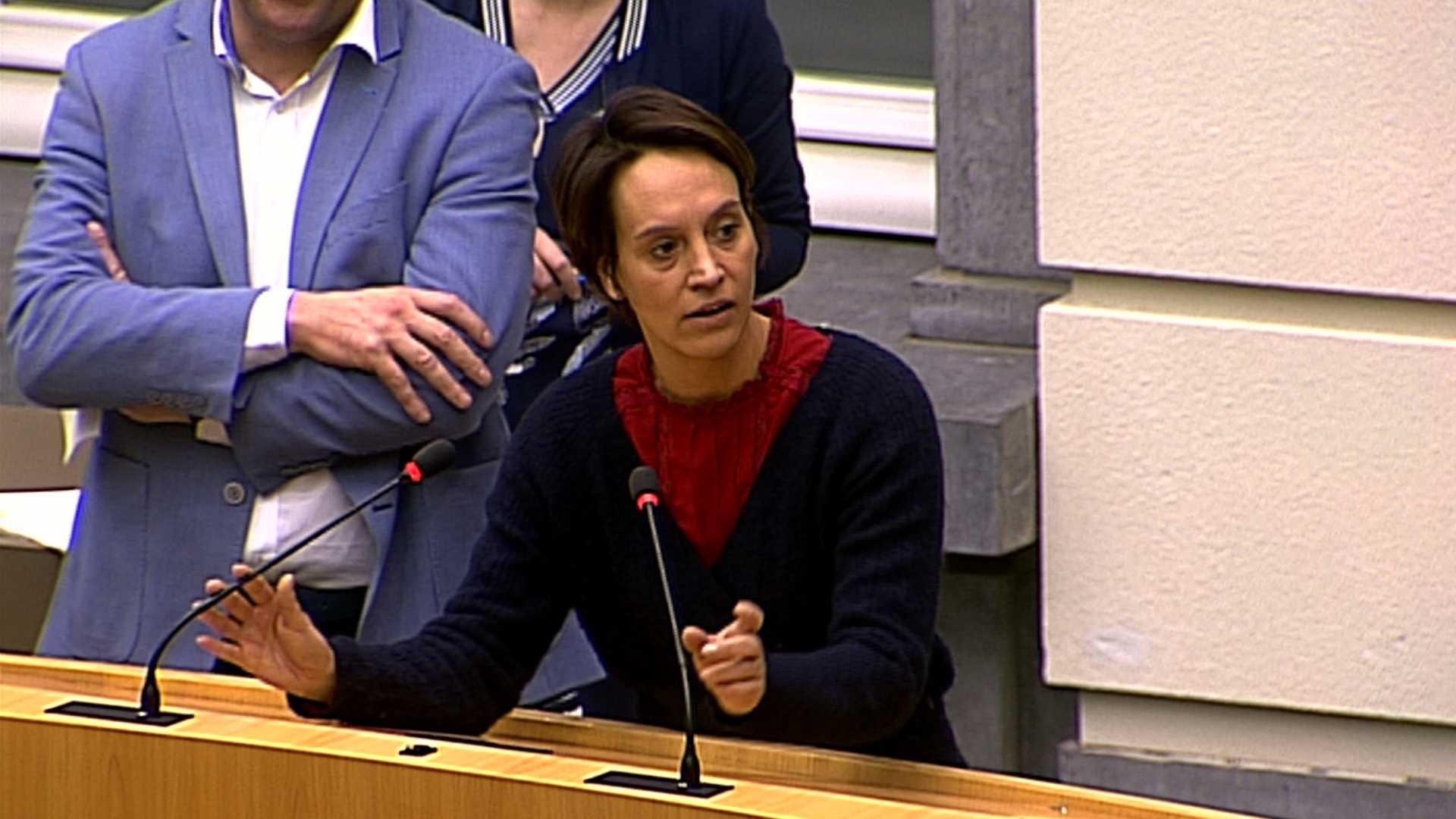 """#spraakmakers: """"De trofee van tsjeef van het jaar gaat nu al naar u"""" - Elisabeth Meuleman"""