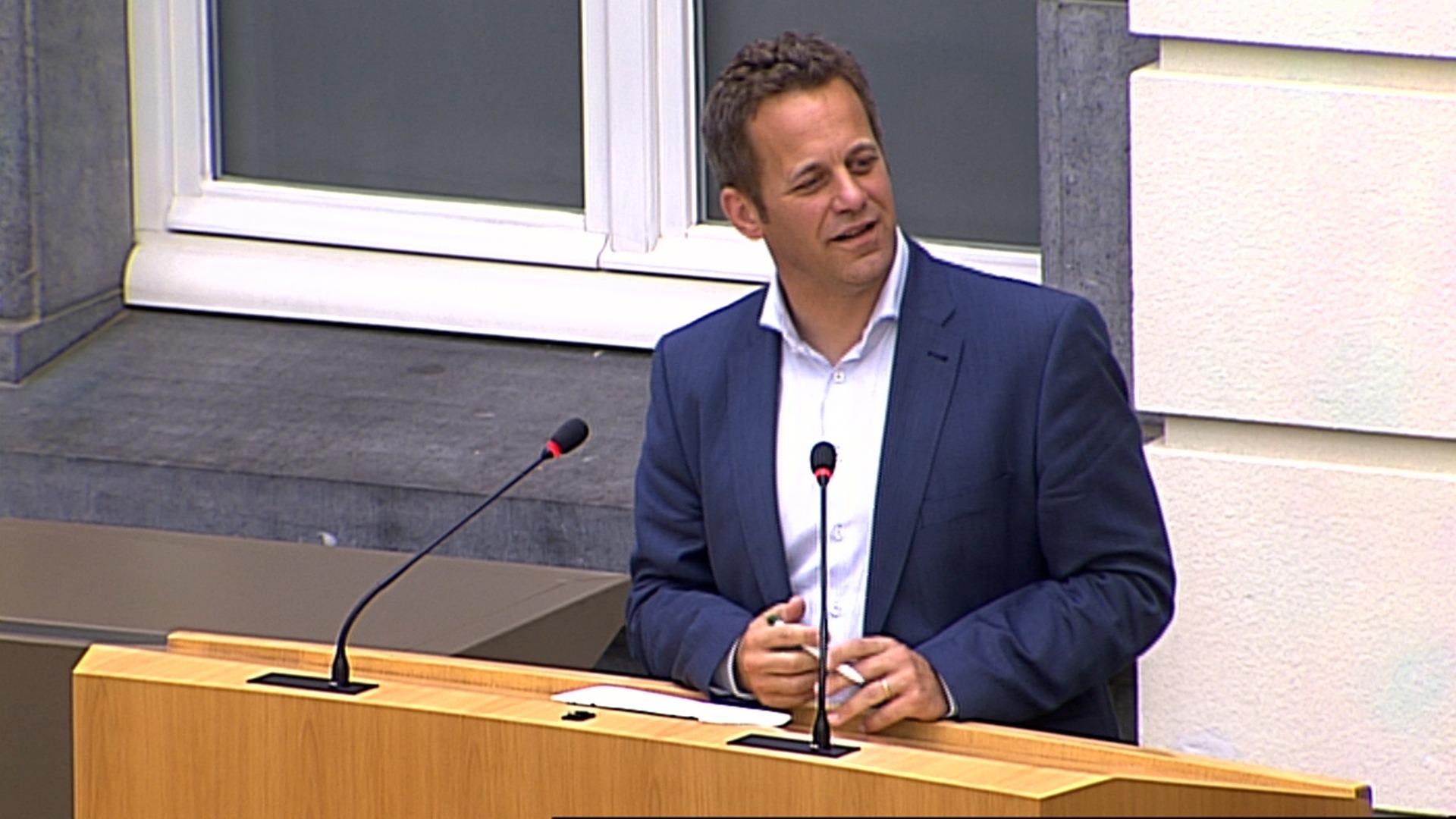 #spraakmakers: 'Zet de historische fout van Karel De Gucht recht' - Robrecht Bothuyne