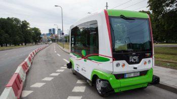 Vanaf 2021 zelfrijdende busjes in Antwerpen