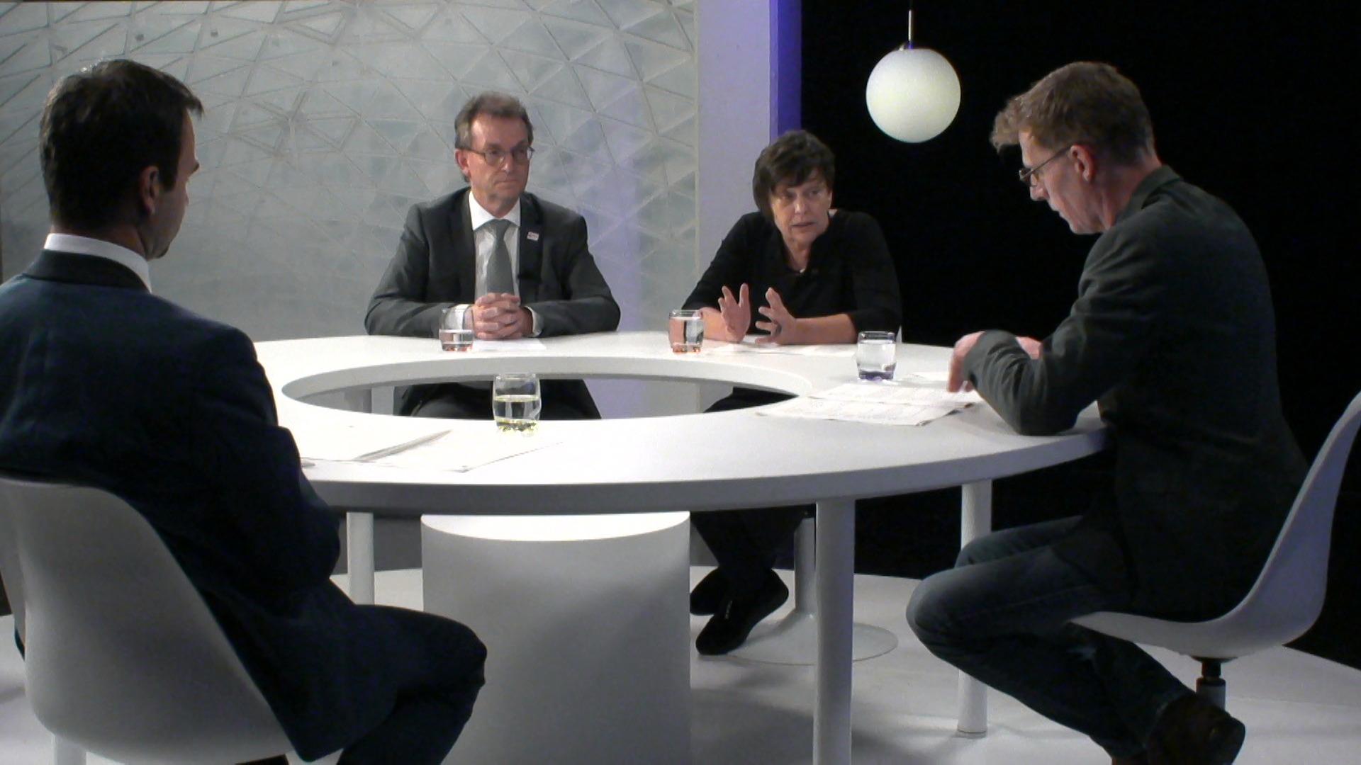 Het debat: 'Mens en Samenleving' – met Kathleen Helsen (CD&V), Koen Daniëls (N-VA) en Lieven Boeve