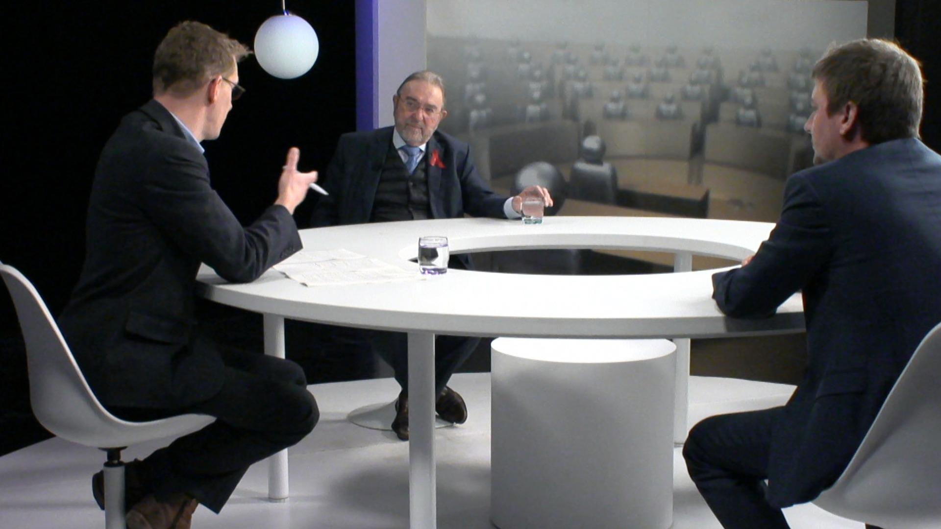 Het Debat over de rol van het VLAM met Hermes Sanctorum en Herman De Croo