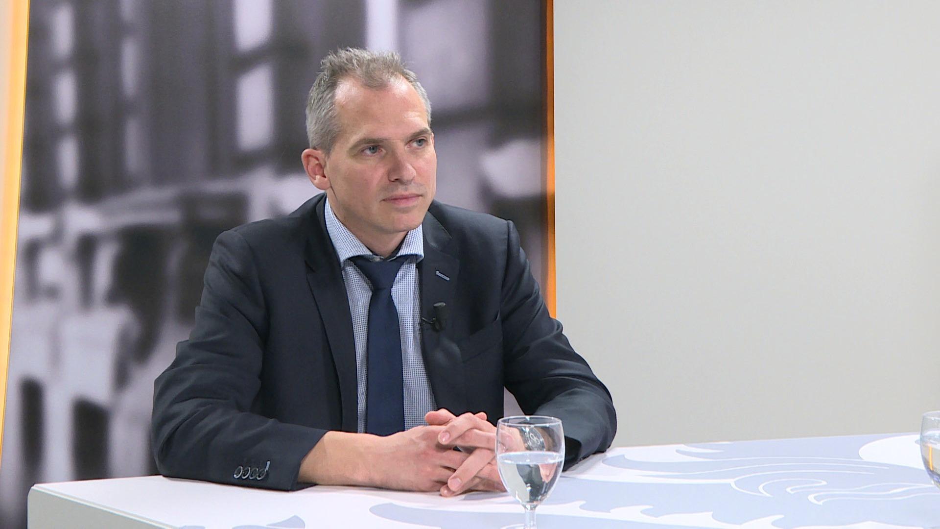 Studio Vlaams Parlement: Matthias Diependaele over de gevolgen van de Brexit