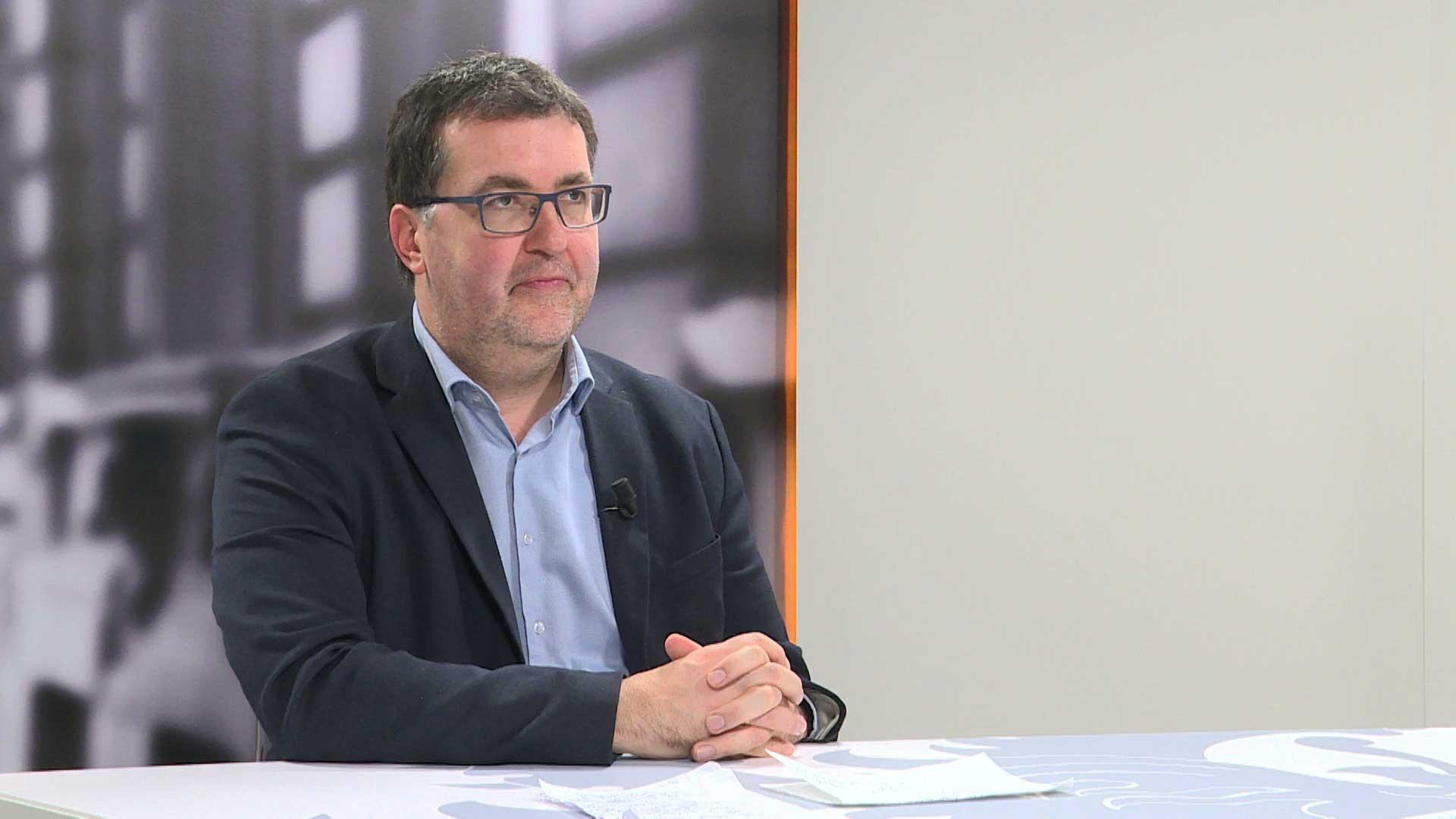 Studio Vlaams Parlement: Wouter Van Besien over het VN-Migratiepact