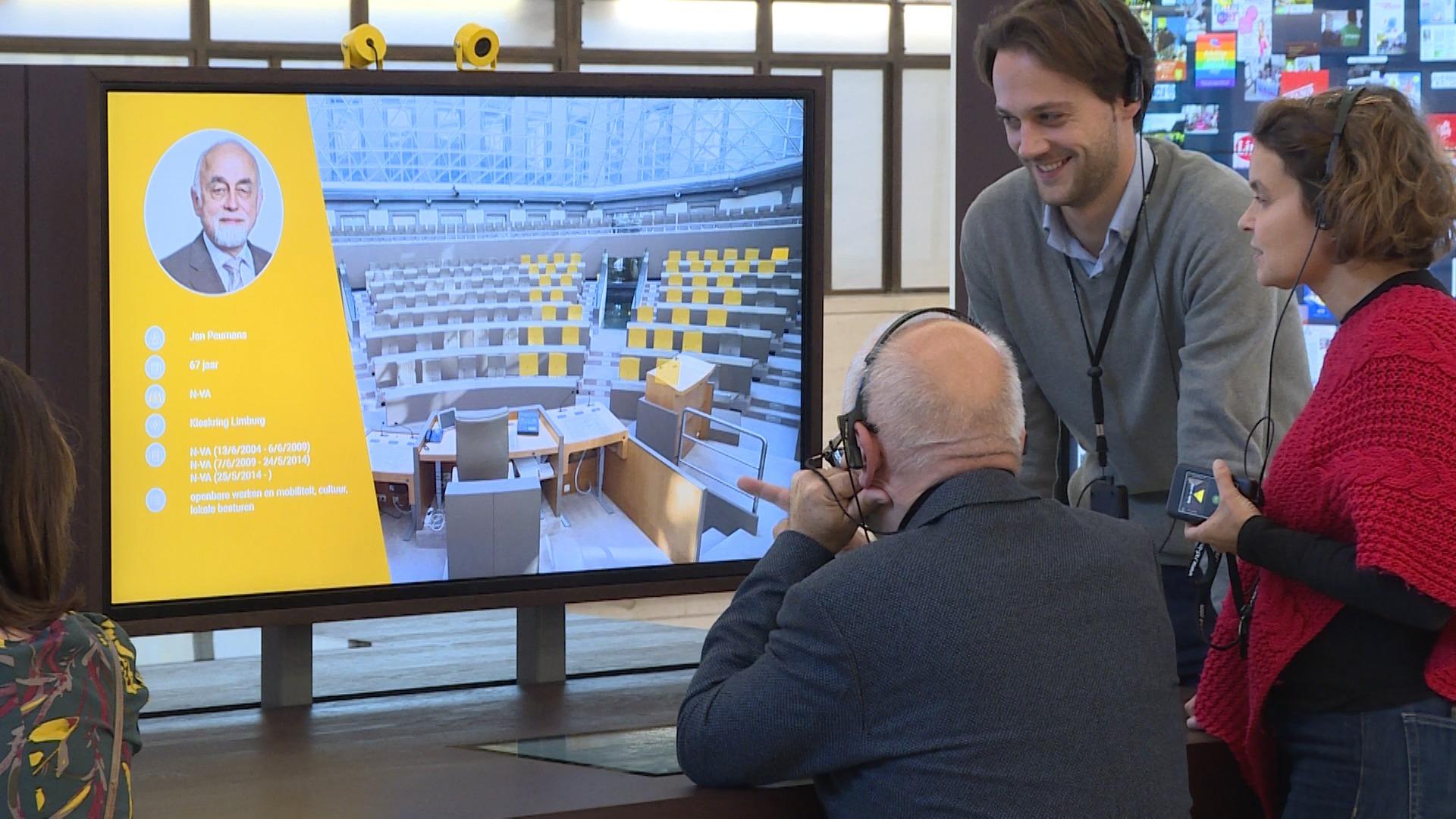 In de wandelgangen: Opening Bezoekerscentrum Vlaams Parlement