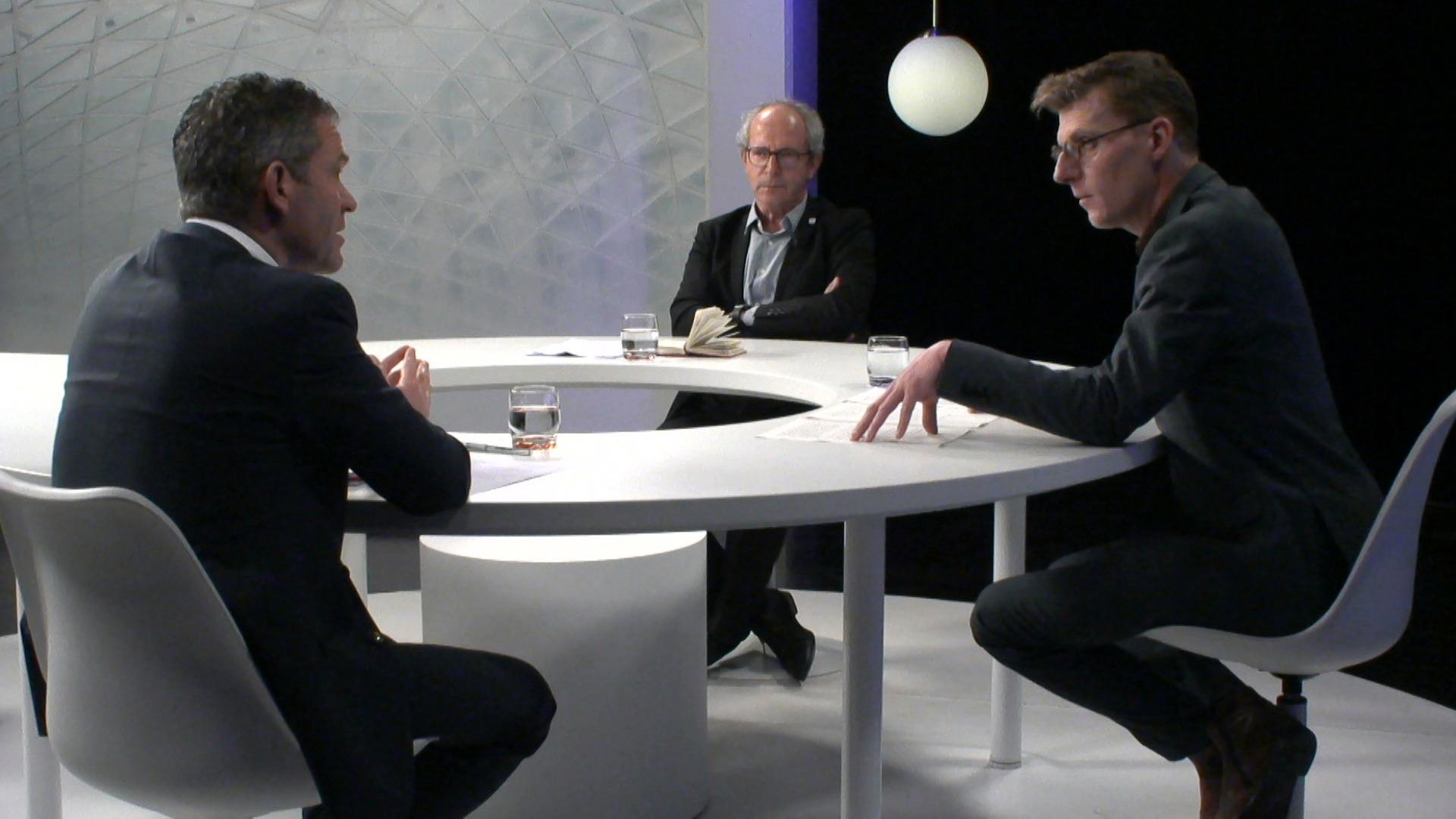 Het Debat: Fietsveiligheid - Renaat Landuyt (sp.a) en Lode Ceyssens (CD&V)