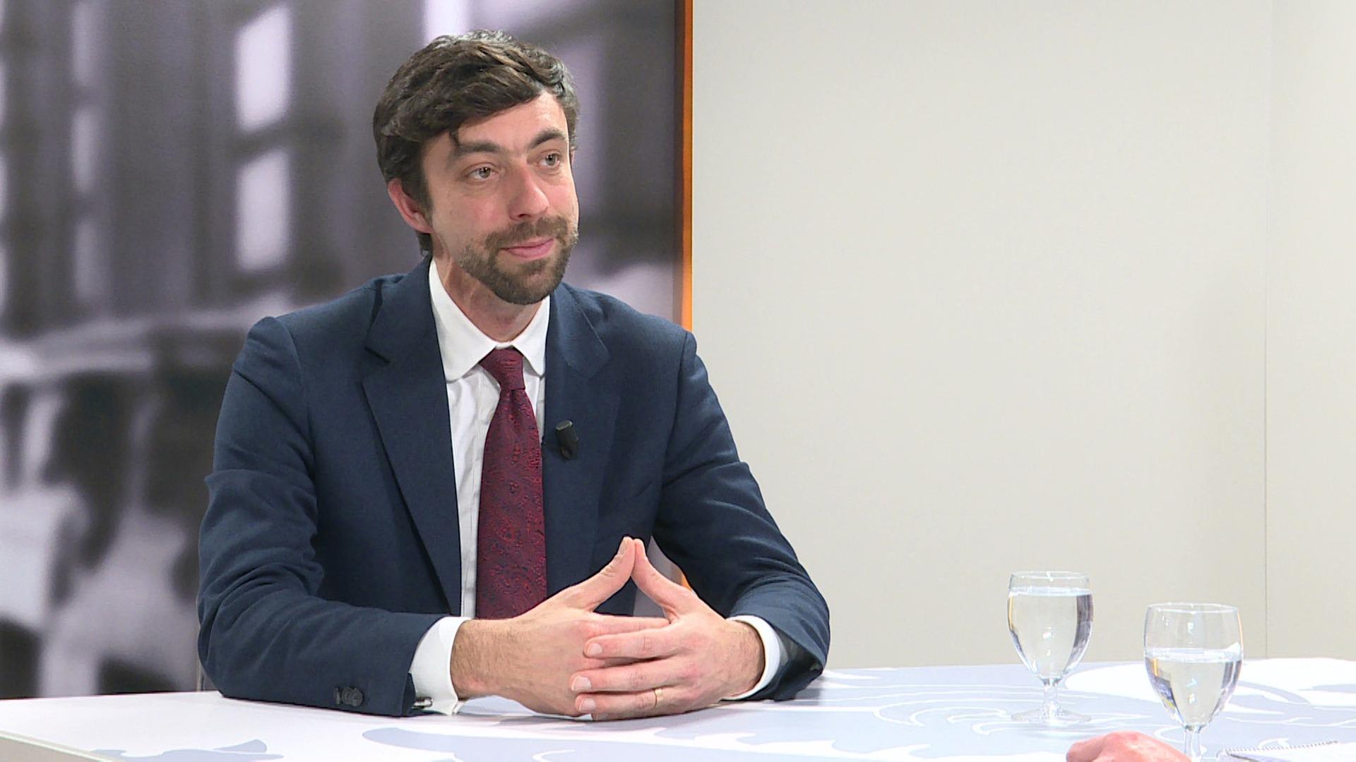 Studio Vlaams Parlement: Willem-Frederik Schiltz over het Vlaams klimaatbeleid