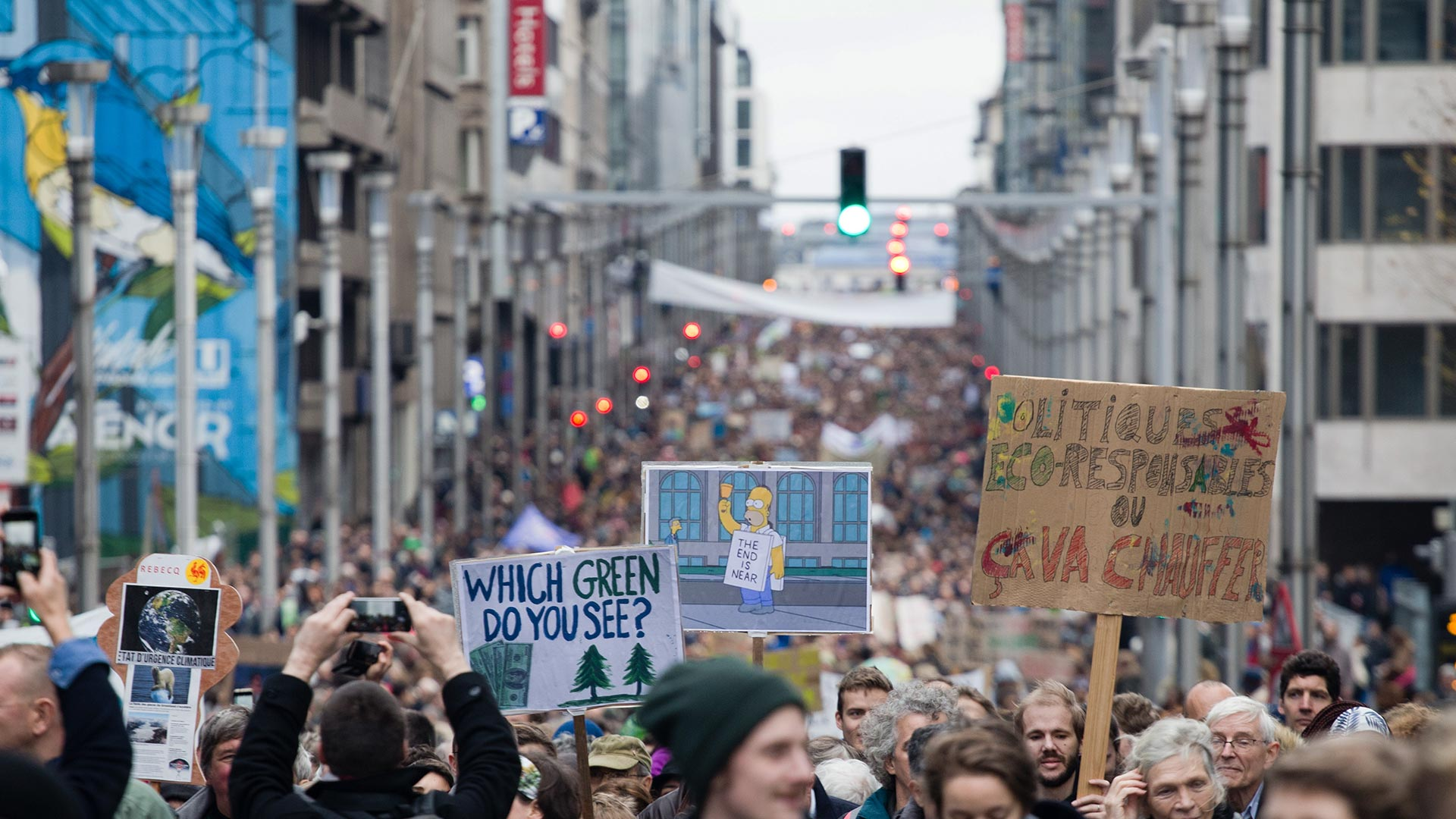 Actualiteitsdebat over het Vlaams klimaatbeleid
