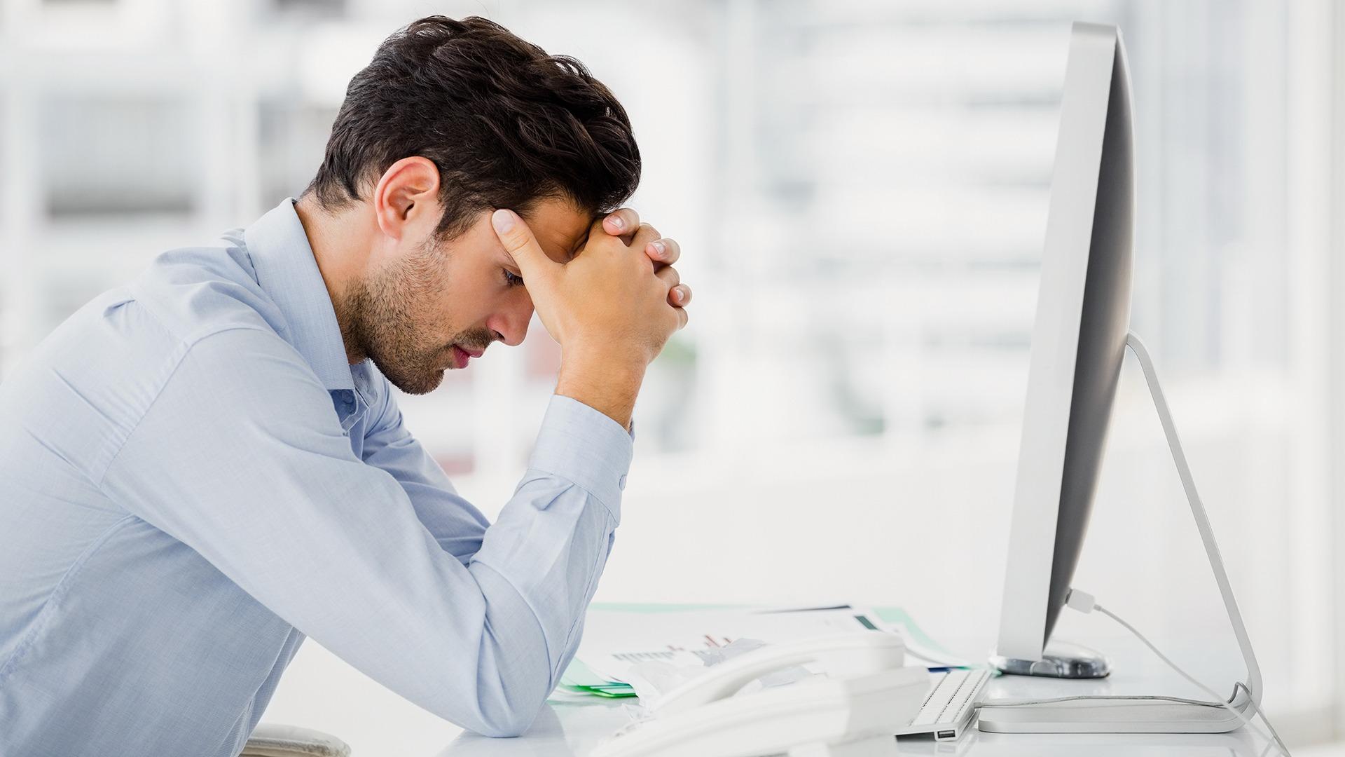 Een op acht ondernemers is depressief