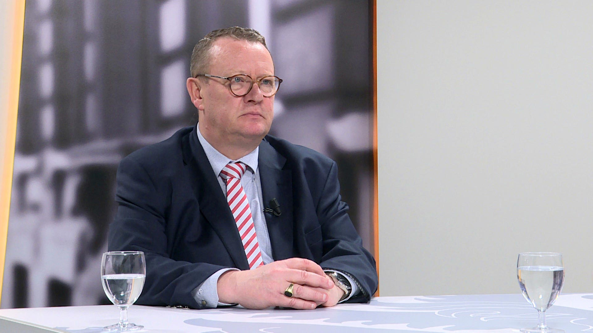 Studio Vlaams Parlement: Stefaan Sintobin over de Brexit