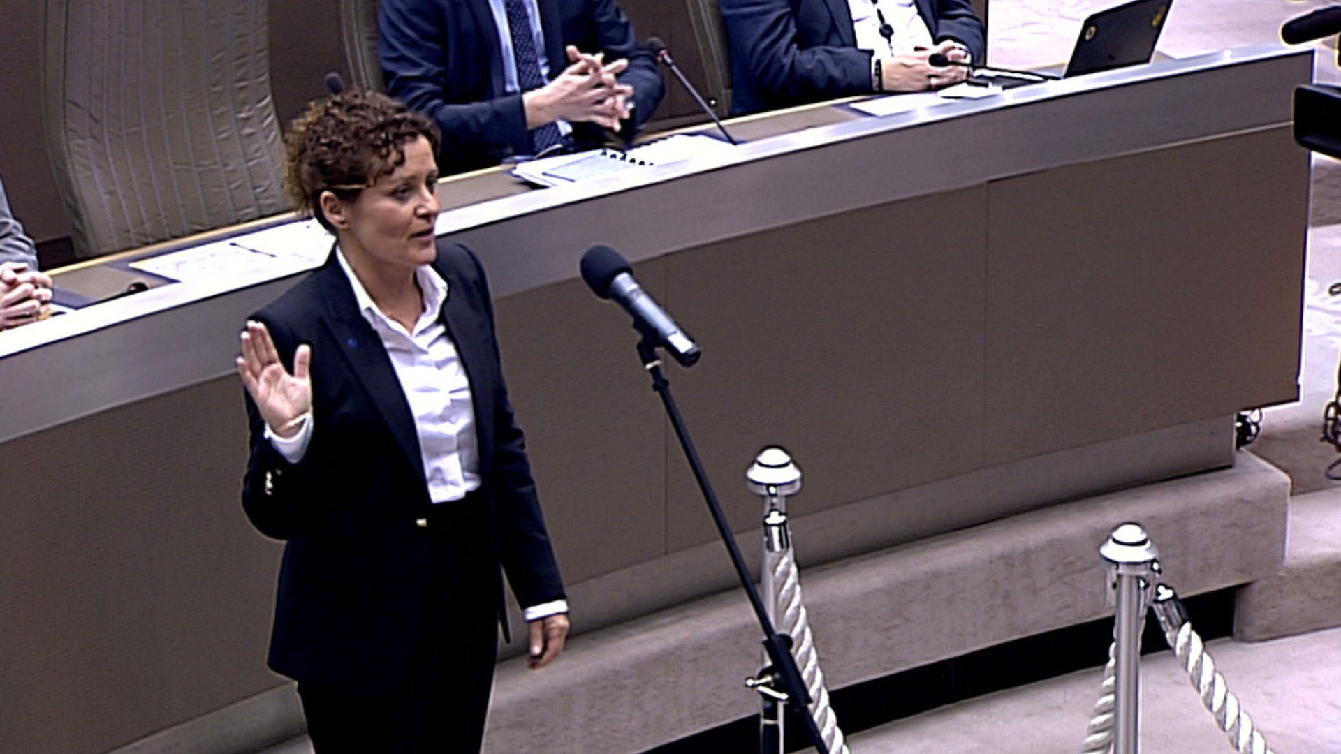 """#spraakmakers: """"Ik zweer getrouwheid aan de Koning"""" - Lydia Peeters"""