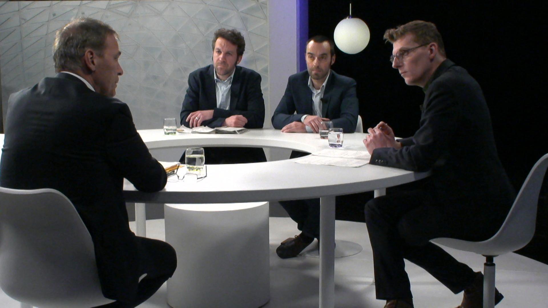 Het Debat: Klimaatbeleid - Bruno Tobback, Andries Gryffroy en Joeri Thijs