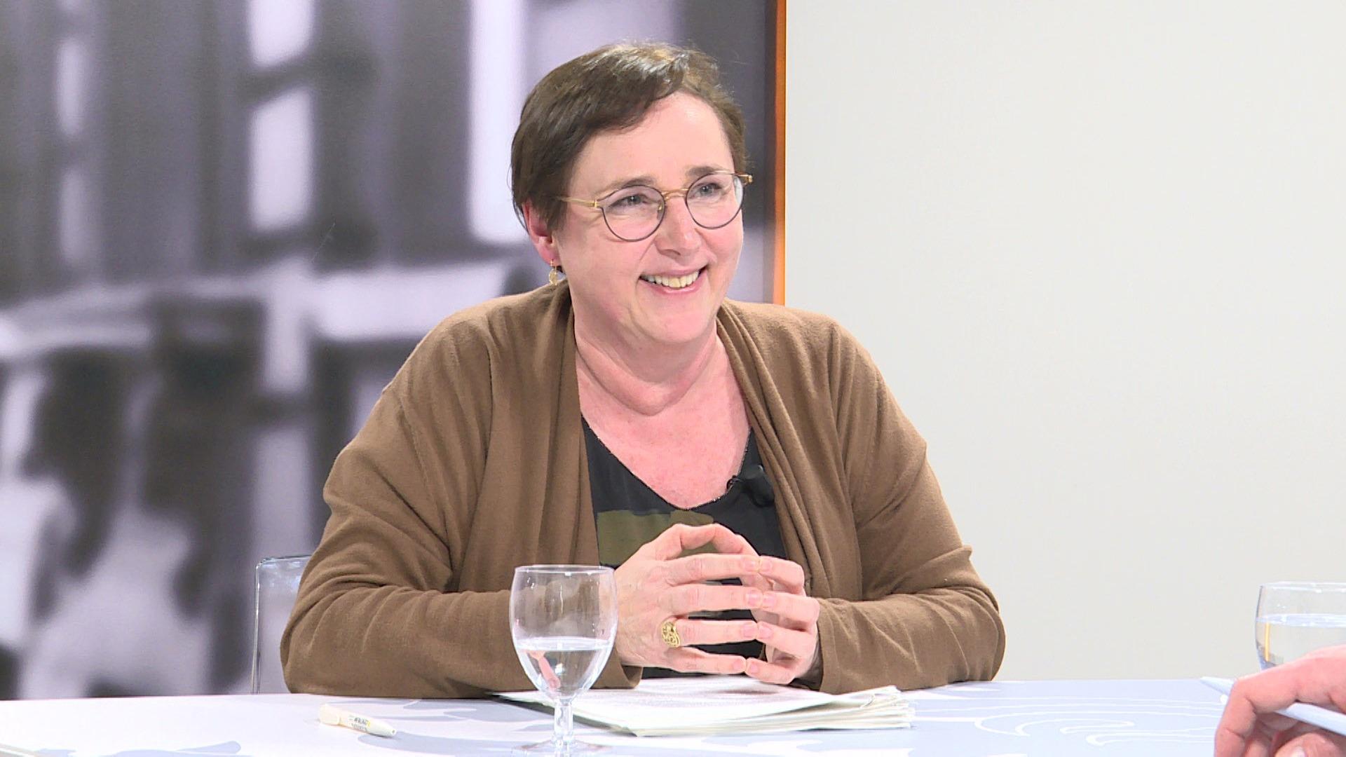 Studio Vlaams Parlement: Karin Brouwers over de stadsboulevards E40 en A12