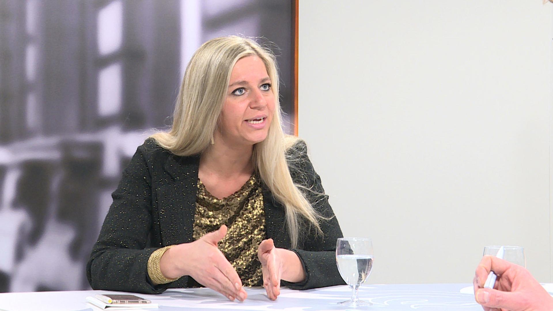 Studio Vlaams Parlement: Gwenny De Vroe over de app BelAir