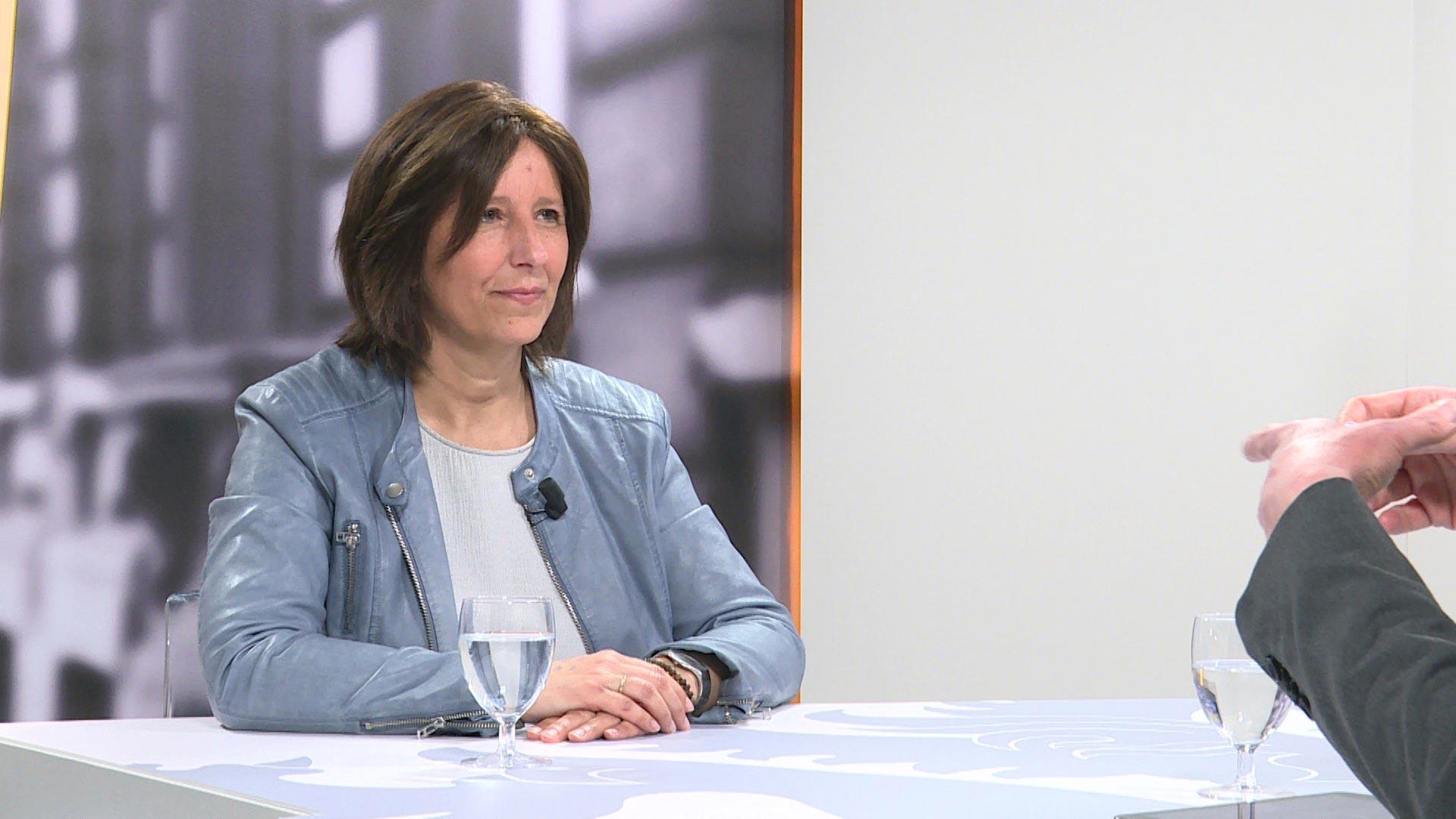 Studio Vlaams Parlement: Kathleen Krekels over Nederlands in het kleuteronderwijs