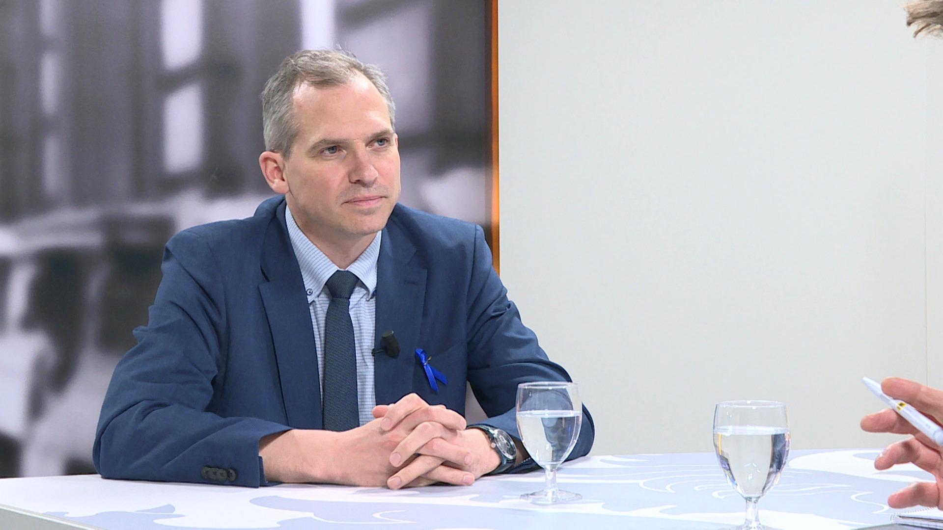 Studio Vlaams Parlement: Matthias Diependaele over een nakende no-dealbrexit