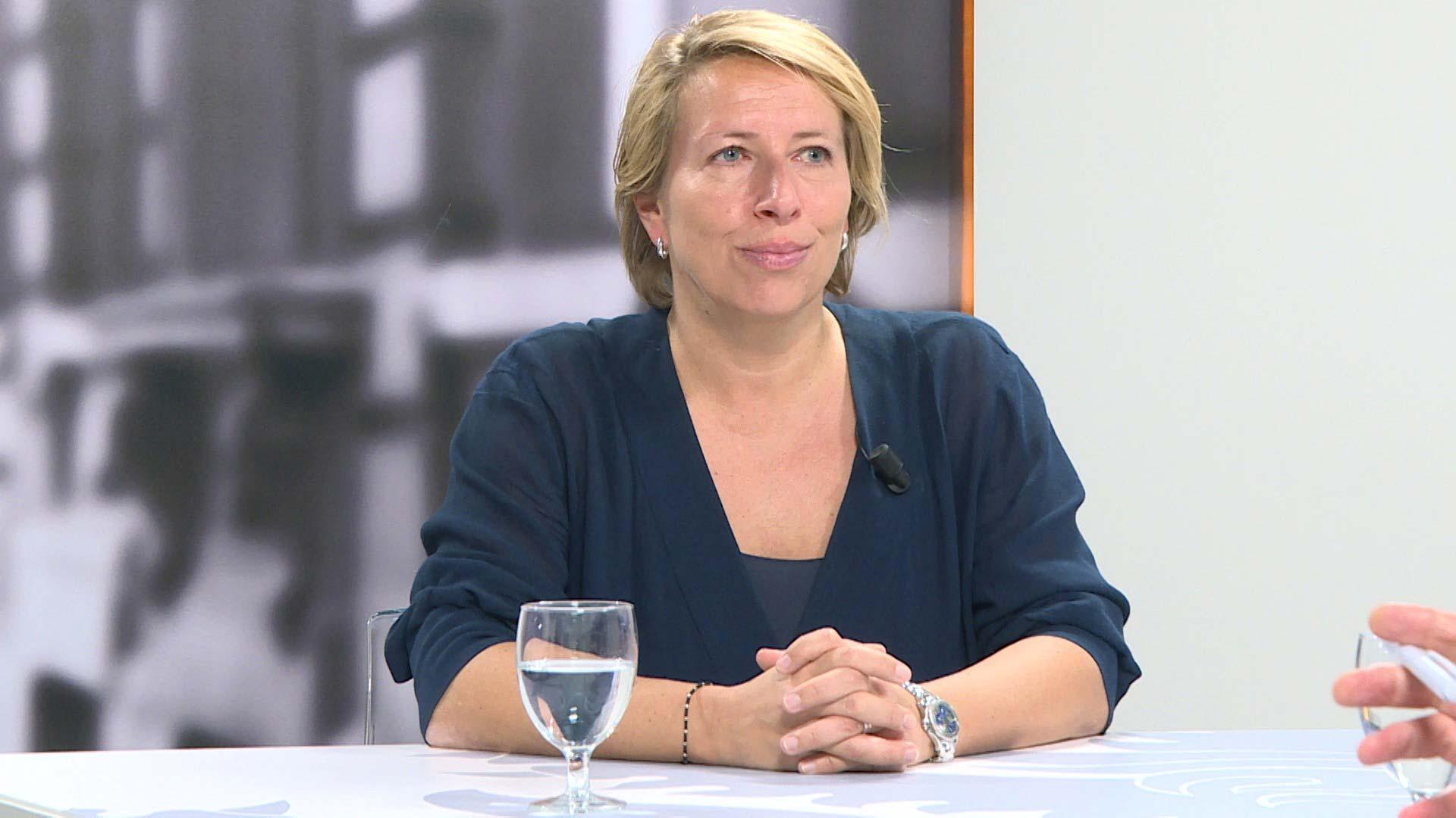 Studio Vlaams Parlement: Caroline Gennez over de algemene onderwijsstaking