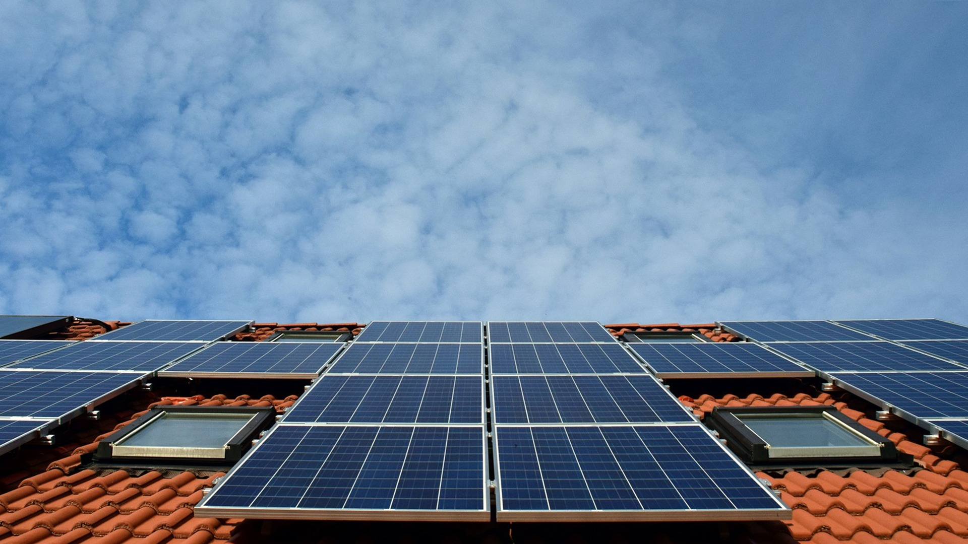 Delen van opgewekte zonne-energie