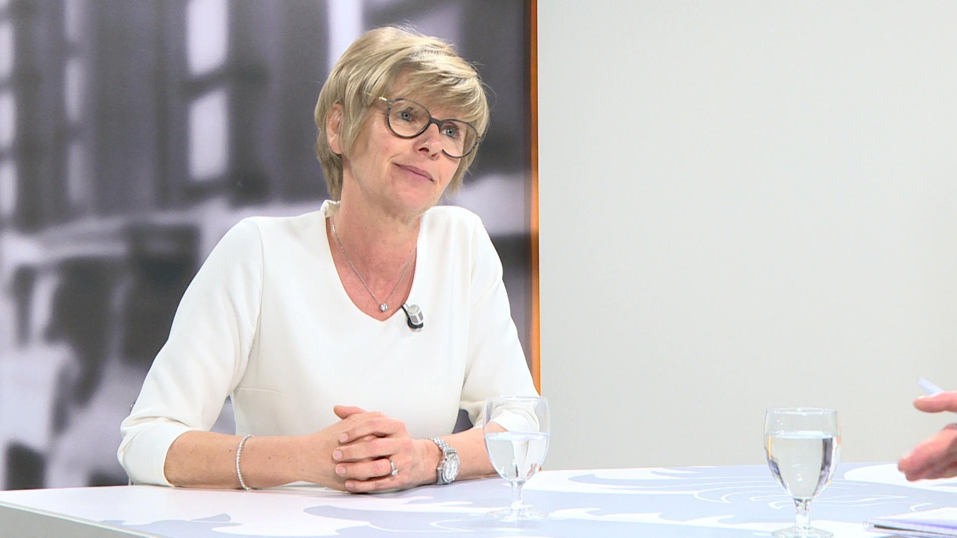 Studio Vlaams Parlement: Martine Fournier over de toename van het aantal fietsongevallen