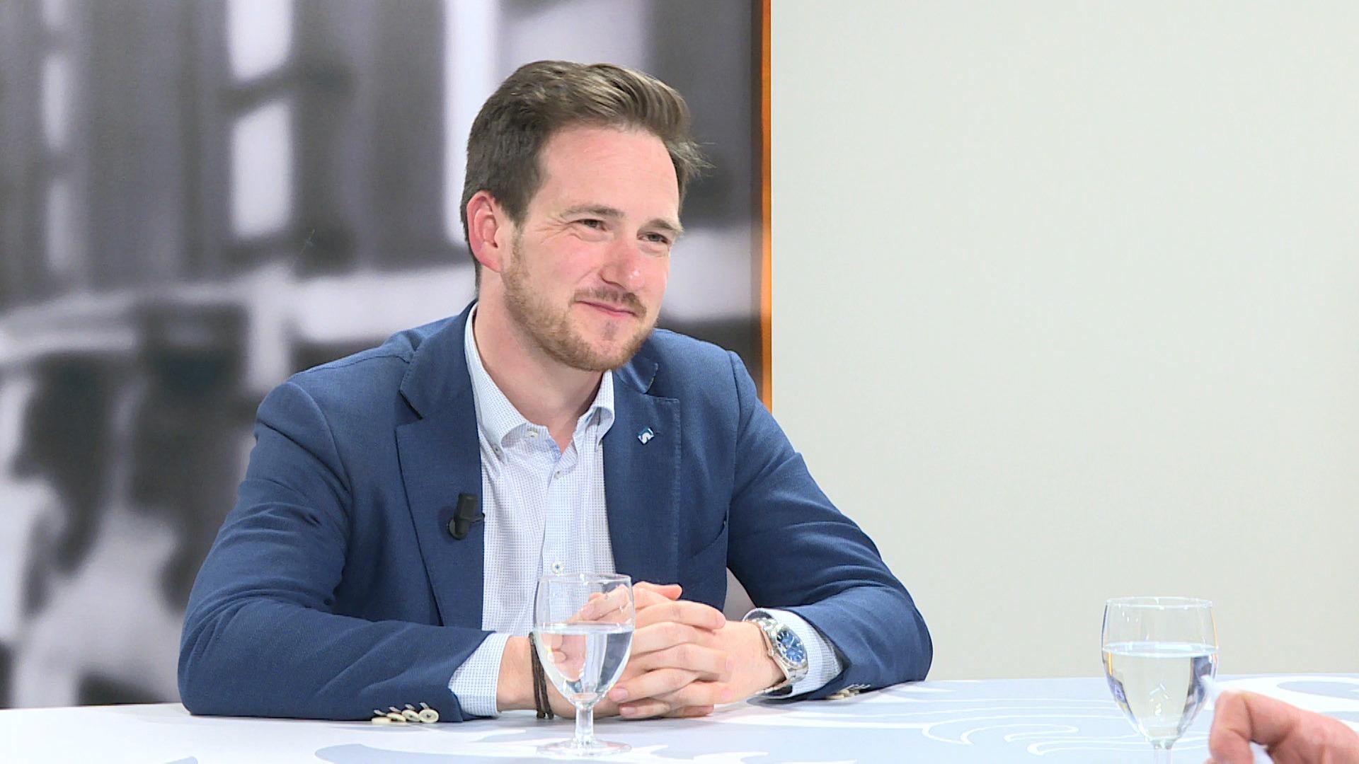 Studio Vlaams Parlement: Francesco Vanderjeugd over de gevolgen van de droogte voor de landbouw