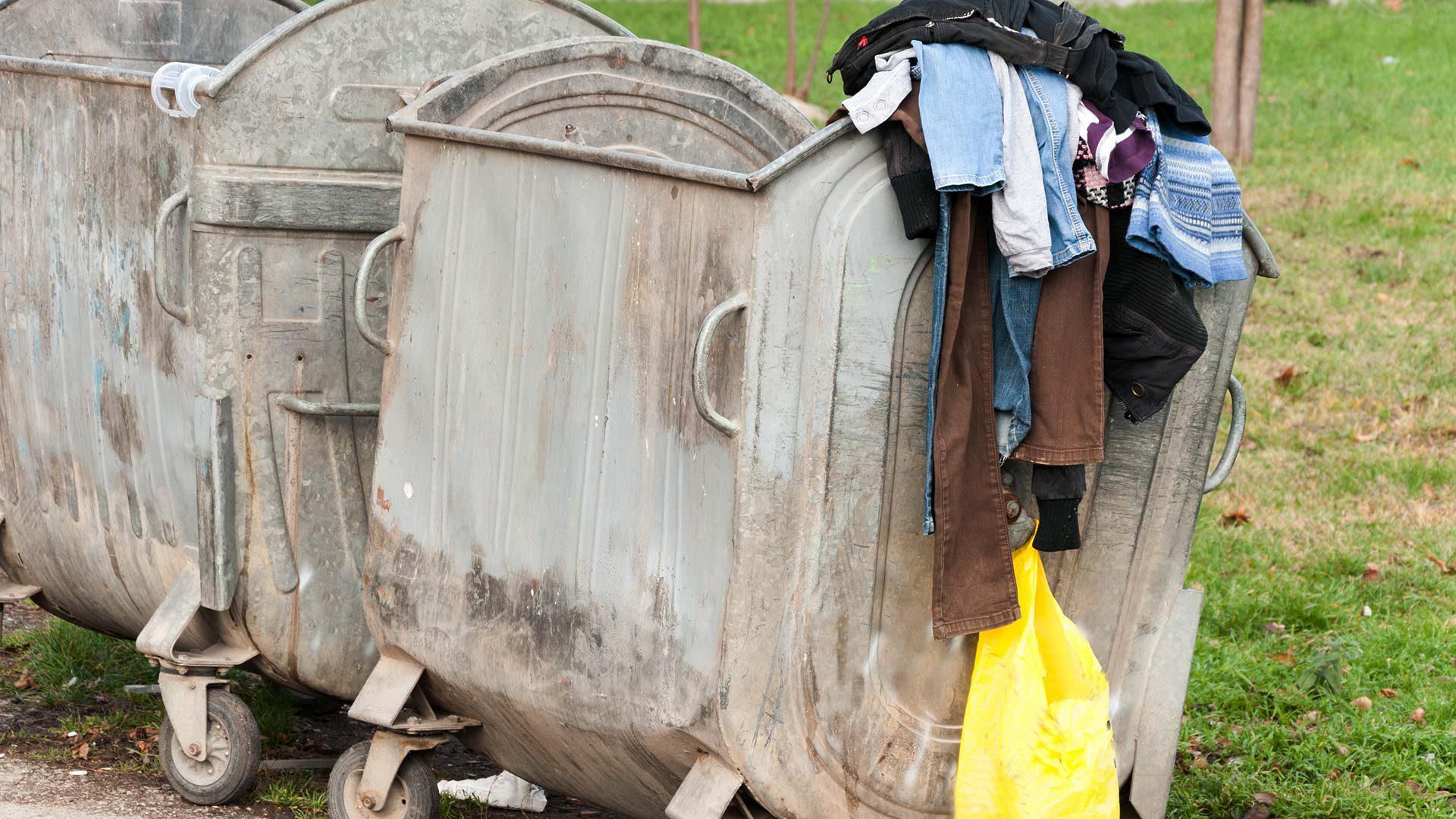 Recycleren van kledij