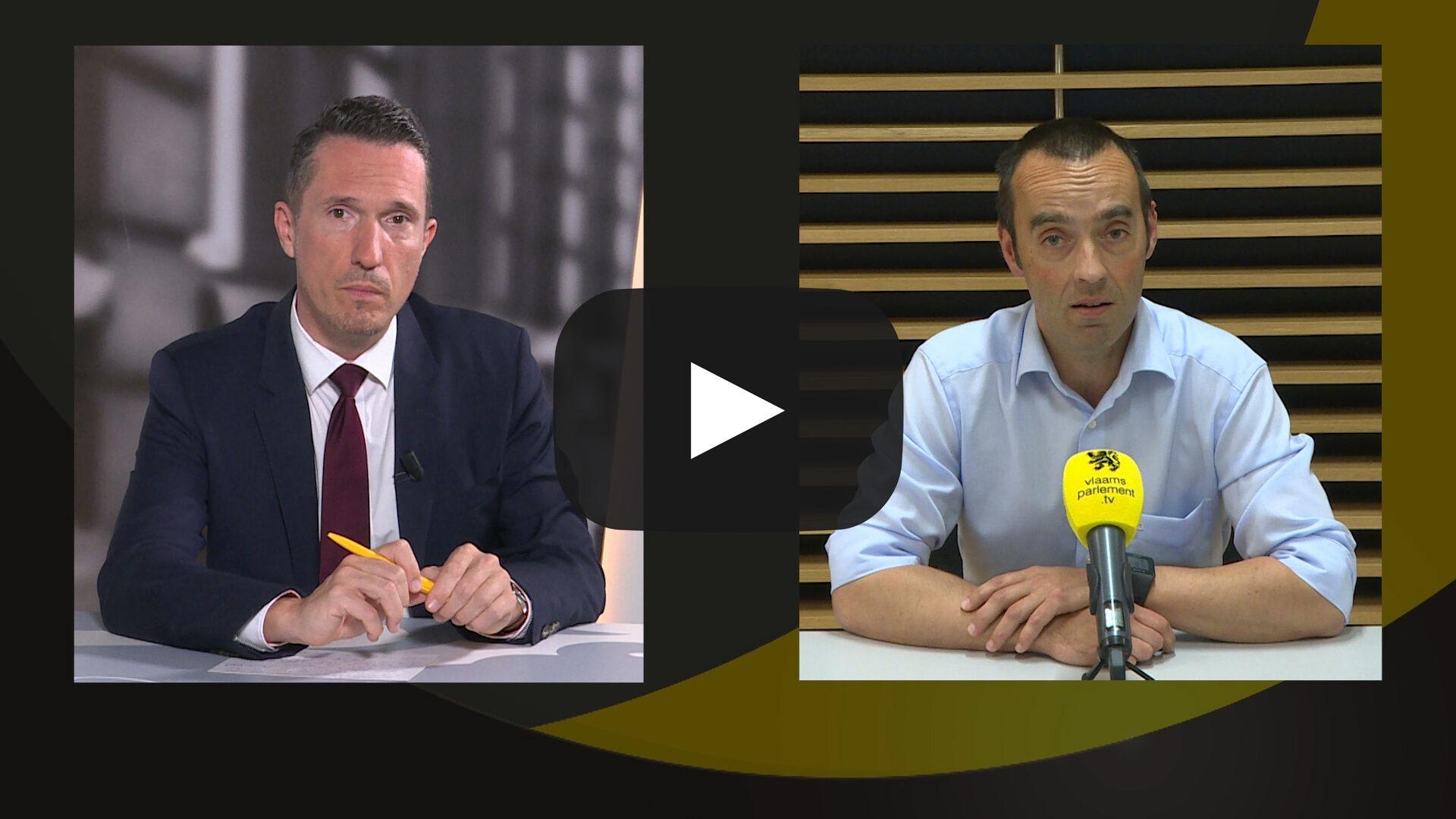 Studio Vlaams Parlement: Bruno Tobback over de rapporten van relancecomités