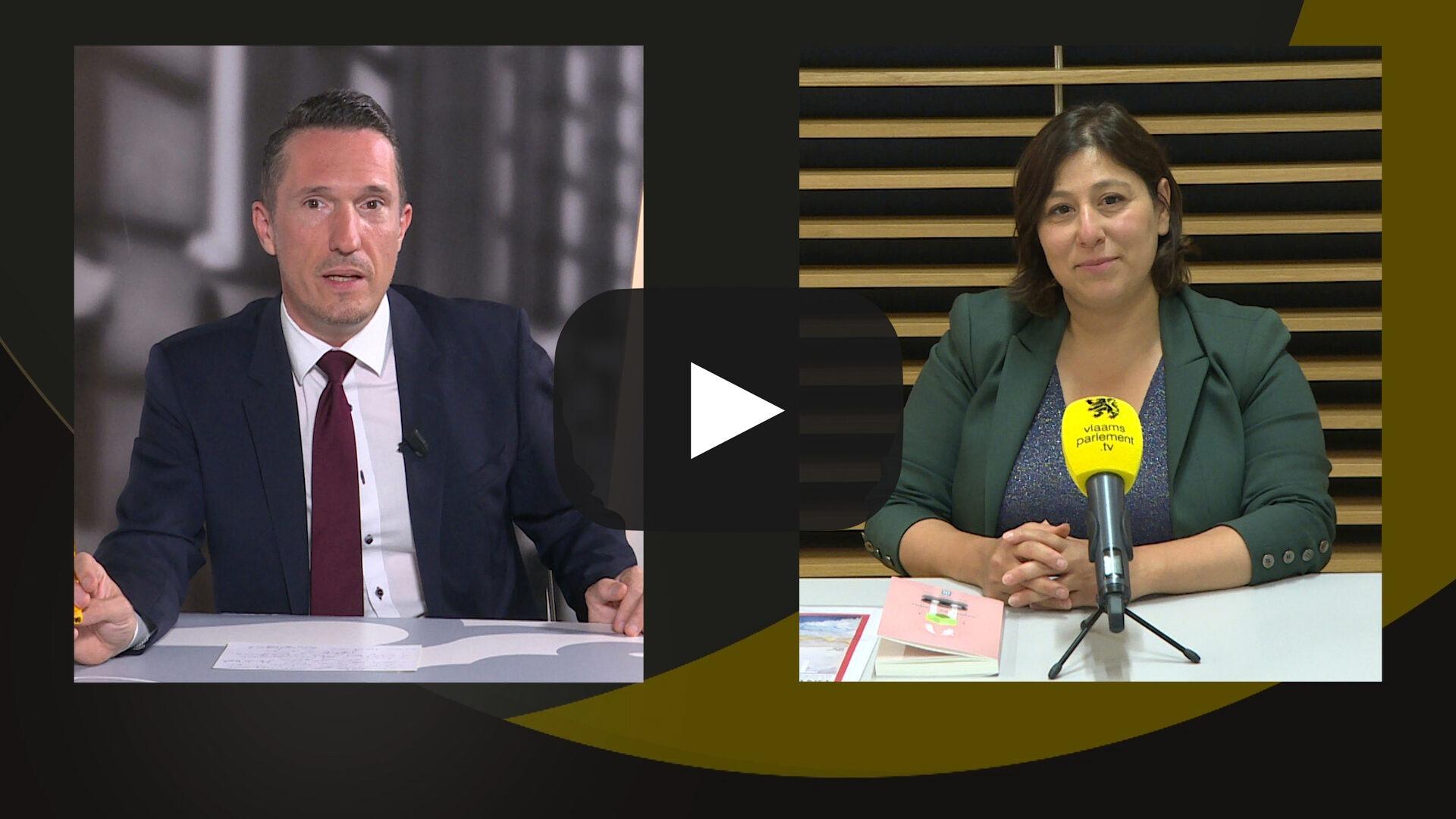 Studio Vlaams Parlement: Meyrem Almaci over de rapporten van relancecomités
