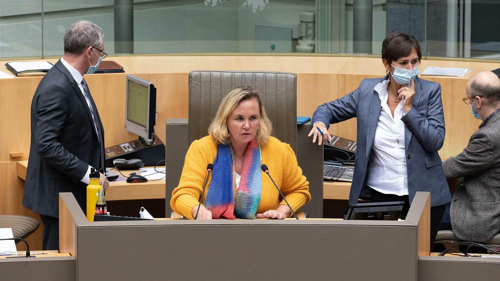 Actuele vragen - Vlaams Parlement - Liesbeth Homans