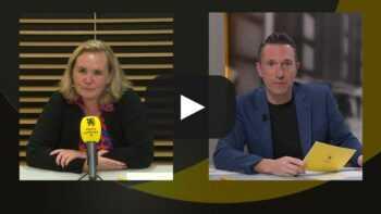 Liesbeth Homans, voorzitter van het Vlaams Parlement