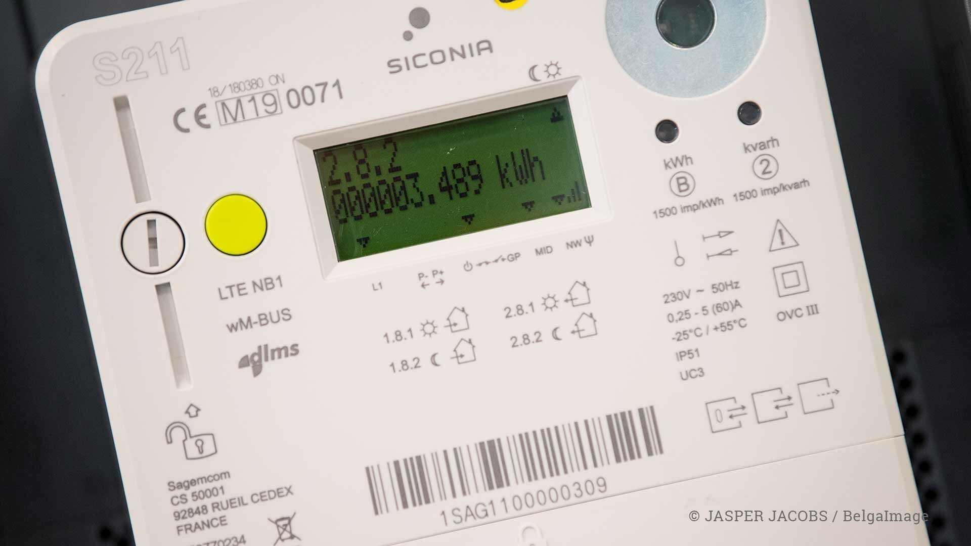Uitrol digitale meter