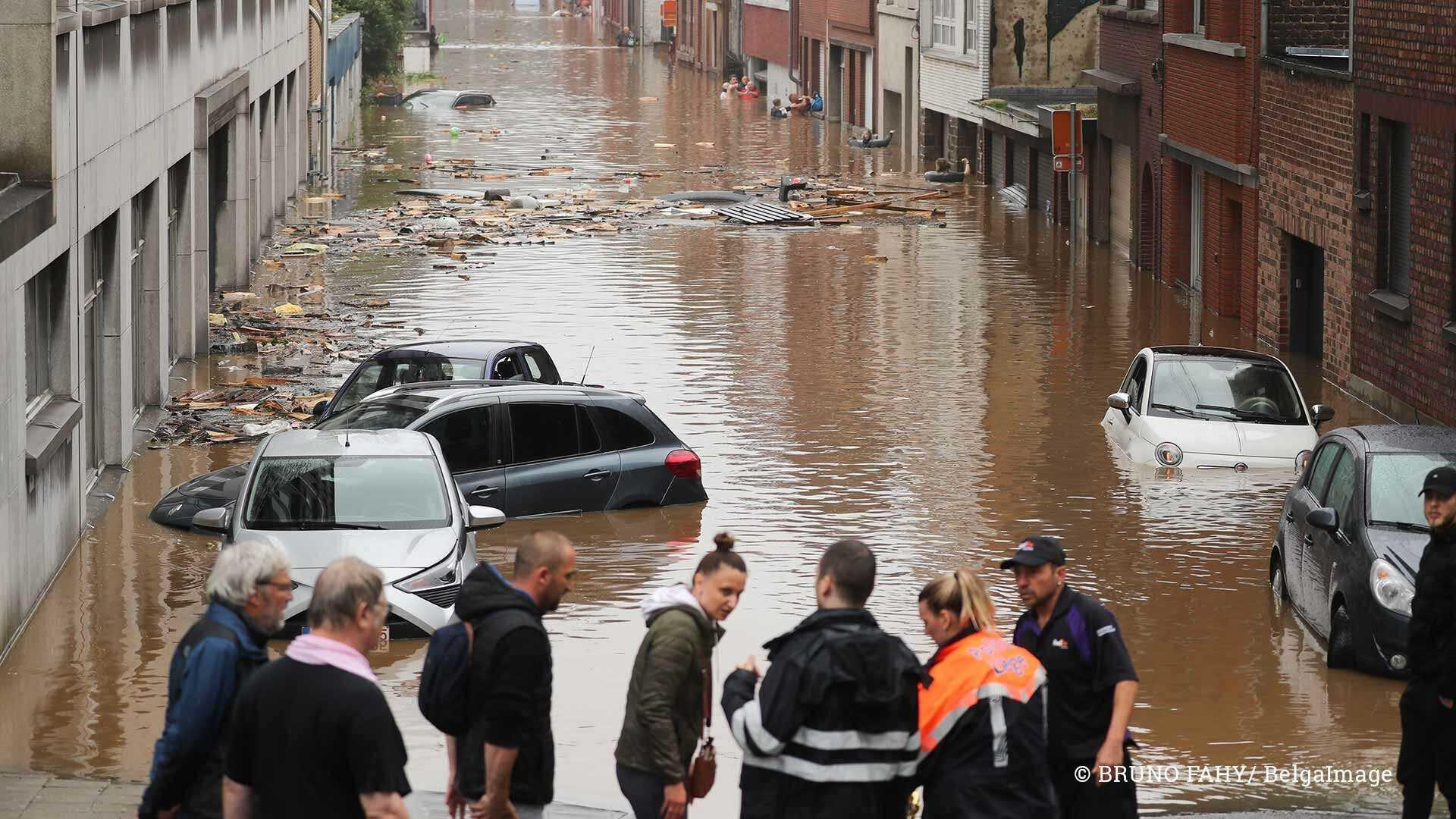 Watersnood België - juli 2021