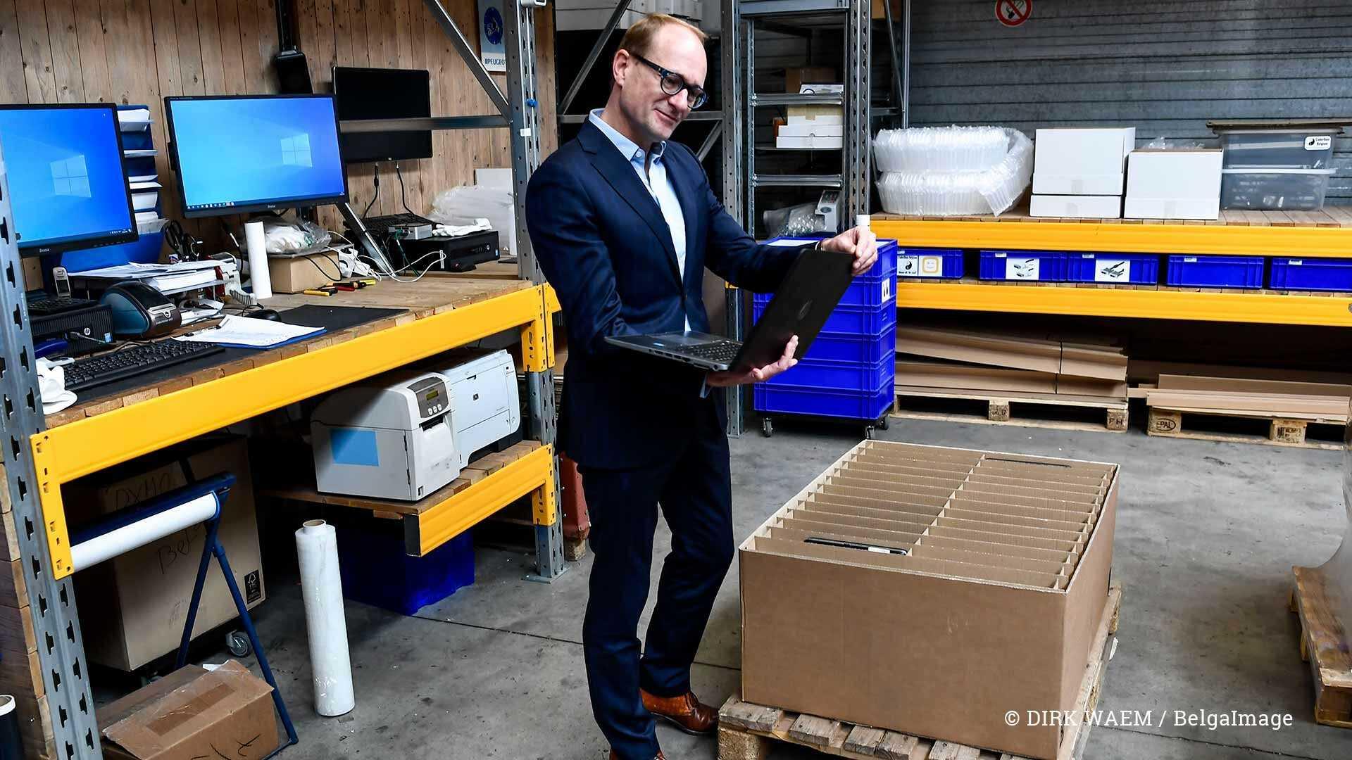 Ben Weyts - laptops