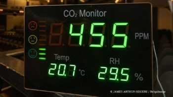 CO2-meters in de klas